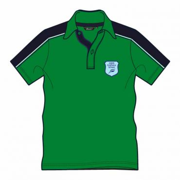 FPS UNISEX PE POLO GREEN
