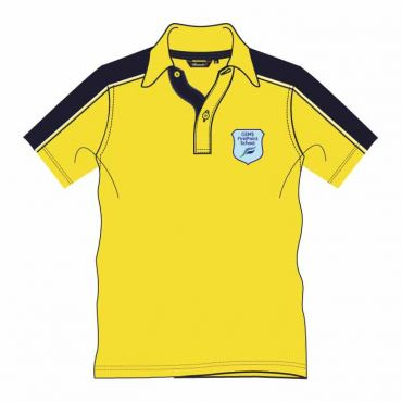 FPS UNISEX PE POLO YELLOW