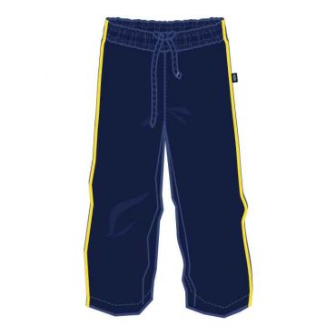 GMA/OOE PE TRACK PANTS NAVY/ YELLOW