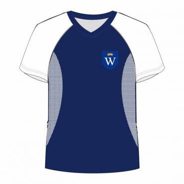 WSO/WIS UNISEX PE T-SHIRT WHITE