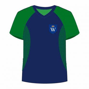 WSO/WIS UNISEX PE T-SHIRT GREEN