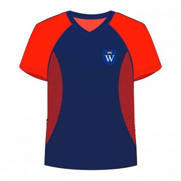 WSO/WIS UNISEX PE T-SHIRT RED