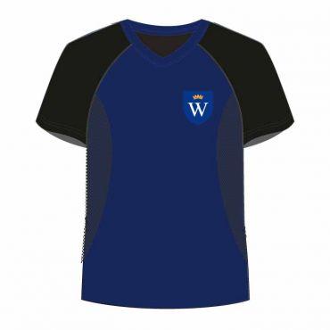 WSO/WIS UNISEX PE T-SHIRT BLACK