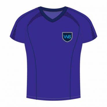 TWSS/TWSR UNISEX PE POLO BLUE