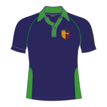 GCS UNISEX PE POLO GREEN