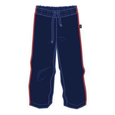 COM AS UXTRACK PANTS NAVY/ RED