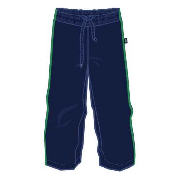 COM AS UXTRACK PANTS NAVY/ GREEN