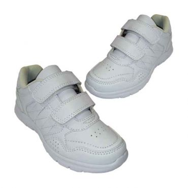 KG UNISEX WHITE VELCRO SPORTS1