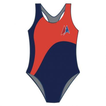DAA SWIMSUIT NAVY/RED