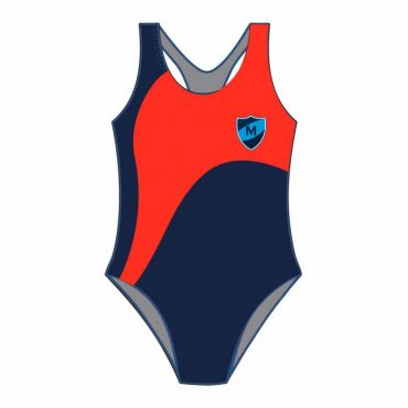 MEP SWIMSUIT NAVY/RED
