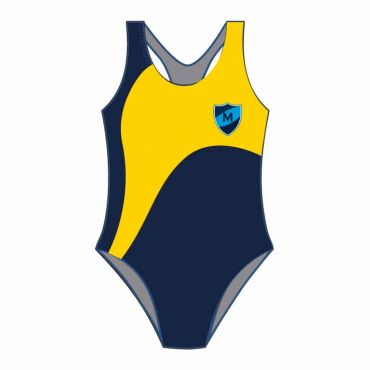MEP SWIMSUIT NAVY/YELLOW