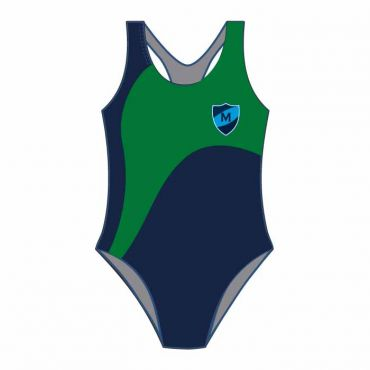 MEP SWIMSUIT NAVY/GREEN