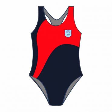 FPS SWIMSUIT NAVY/RED