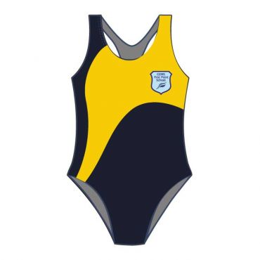 FPS SWIMSUIT NAVY/YELLOW