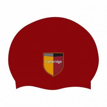 CAM BURGUNDY SWIM CAP SIZE R