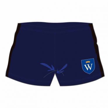 WEL SWIM SHORTS NAVY/BLACK