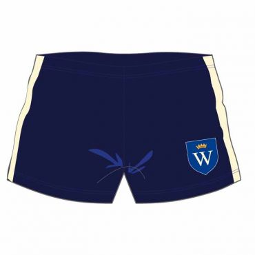 WEL SWIM SHORTS NAVY/WHITE