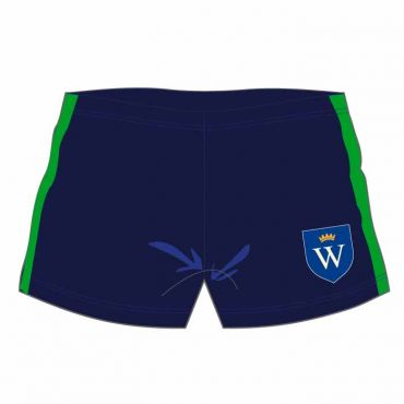 WEL SWIM SHORTS NAVY/GREEN