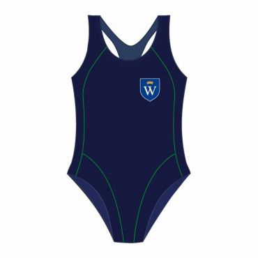 WEL SWIMSUIT NAVY/GREEN