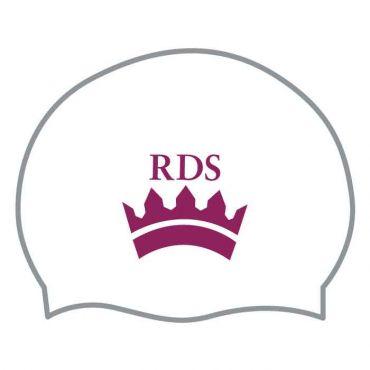 RDS WHITE SWIM CAP