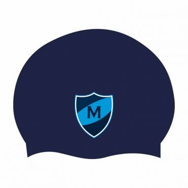 MTS NAVY SWIM CAP