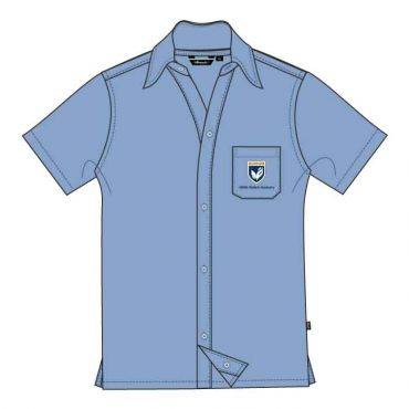 GMA BOYS L.BLUE SS SHIRT W/P