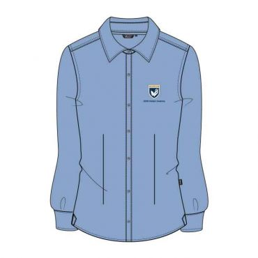 GMA GIRLS L.BLUE FS SHIRT WO/P