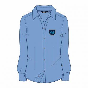 TWS FS BLOUSE GR 1-6 OXF BLUE
