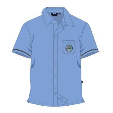 SDQ BOYS BLUE SS SHIRT GR FS1-6