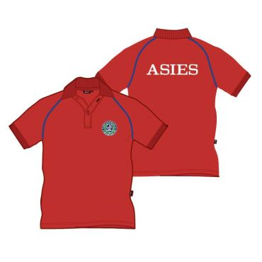 SDQ GIRLS RED POLO