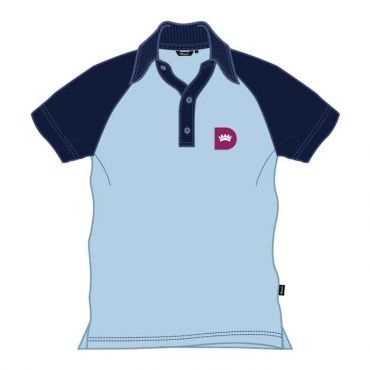 RDS UNISEX KG POLO NAVY/BLUE
