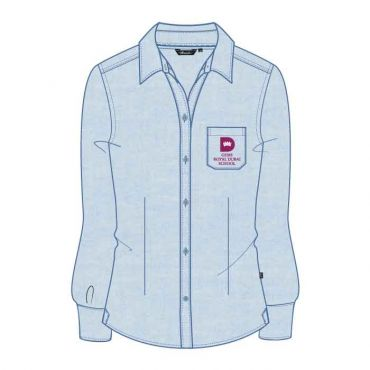 RDS GIRLS FS BLOUSE GR 1-6 BLUE