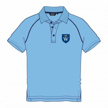 WEL UNISEX POLO GR KG-2 BLUE