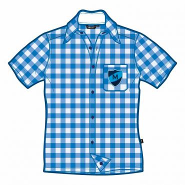 MEP UNISEX CHECKED SS SHIRT GR 1-6