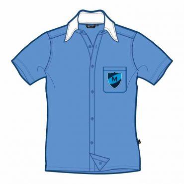 MEP SS SHIRT BLUE GR 7-9