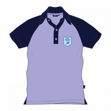 FPS UNISEX KG POLO LILAC