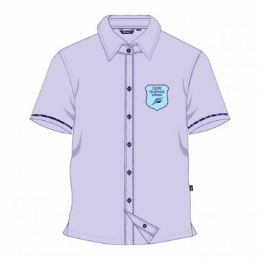 FPS BOYS SS SHIRT BLUE GR 7-11