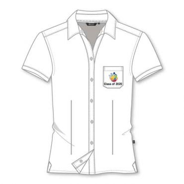 GIS GIRLS SS BLOUSE WHITE GRADE 11-12