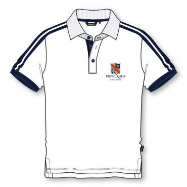 NLS BOYS KG POLO WHITE