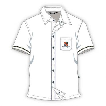 NLS BOYS SHIRT GR Y1-Y6 WHITE
